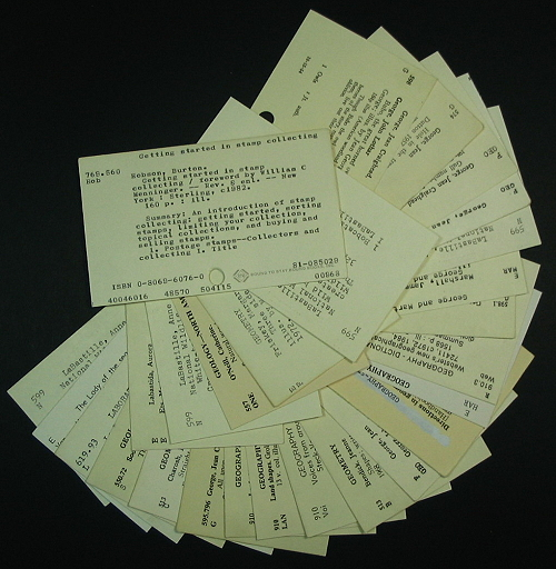 library-catalog-card