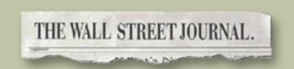 Wall Street Journal masthead