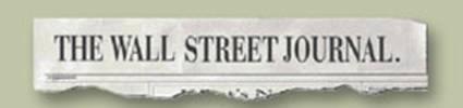 Wall Street Journal masthead