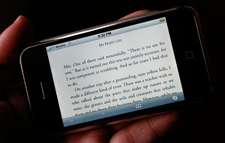 book-on-the-iphone