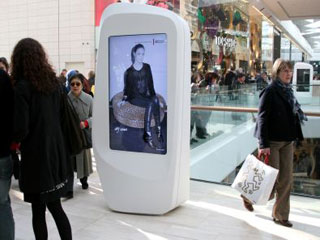 digital billboards in mall
